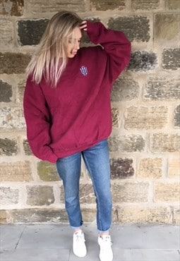 Vintage University Sweatshirt Jumper Oversized XL