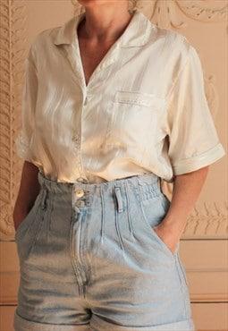 Satin Pyjama Shirt