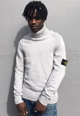 Vintage Stone Island Turtle Neck Jumper Knit