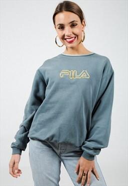 Vintage Style 90s  Fila Sweatshirt / S5675