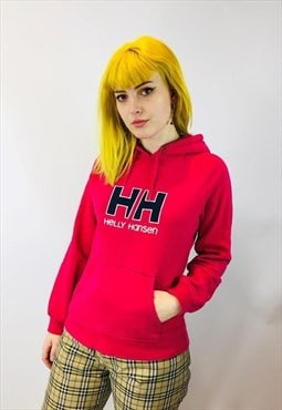 Vintage 90s Helly Hanson Embroidered Hoodie
