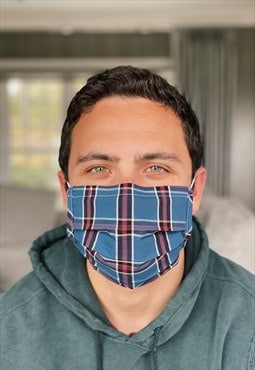 Chappaqua Plaid Fashion Face Covering