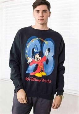 Vintage Disney Sweatshirt Logo 90s X 17.4