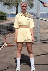 Reworked Vintage Reebok Two Piece Co Ord / Pastel 90s 00s