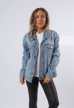 Denim Jacket Oversized Fitted ESPRIT Vintage UK 14 (GG2O)