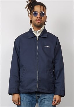 Vintage 90's Carhartt navy workman jacket
