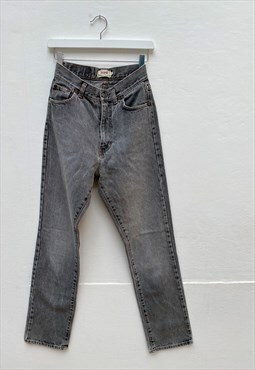 High waisted Sisley gray jeans