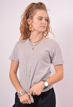 Vintage Lee T-Shirt Top Grey