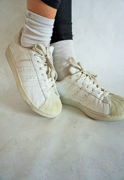 Vintage Adidas Leather Sneakers Shoes Boots Trainers