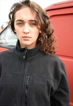 Soft Cozy Black Timberland Fleece
