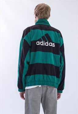 RARE Vintage Mens ADIDAS EQUIPMENT Windbreaker Jacket