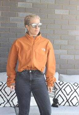 Vintage Y2K The North Face burnt orange oversized jacket