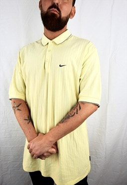 Vintage Yellow Nike Polo