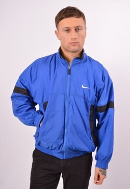 Vintage Nike Tracksuit Top Jacket Blue
