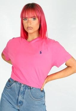 Vintage Ralph Lauren T-shirt in Pink