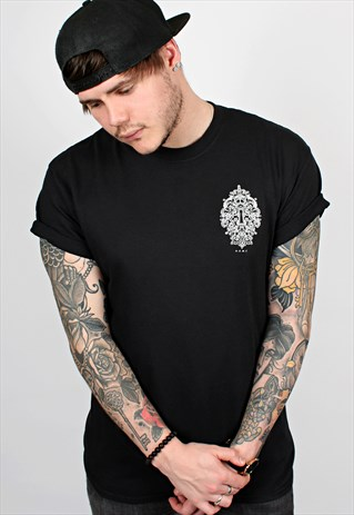 Lock Black T-Shirt