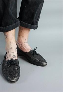 vintage low cut shoes