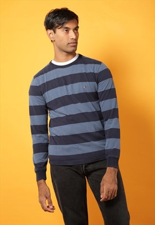 TOMMY HILFIGER STRIPED LONG SLEEVED TOP