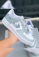 Airforce 1 - Grey Camo - Womens