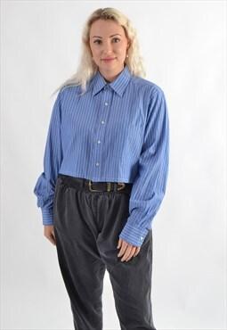 Ralph Lauren Chaps Cropped Shirt GRL3862