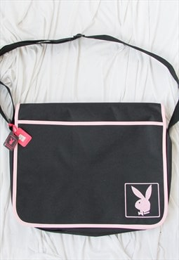 vintage y2k deadstock PLAYBOY cross body bag / laptop bag