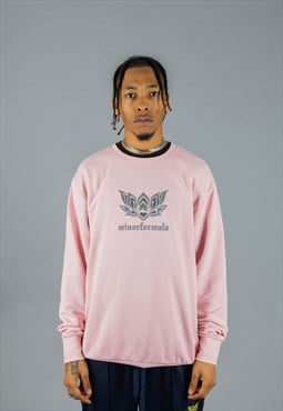 Nu England Sweatshirt - Light Pink