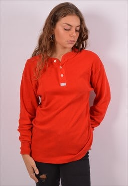 Vintage Levi's Top Long Sleeve Red