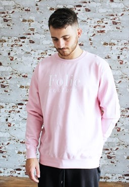 Personalised Pink Sweatshirt / Slogan/word/initials