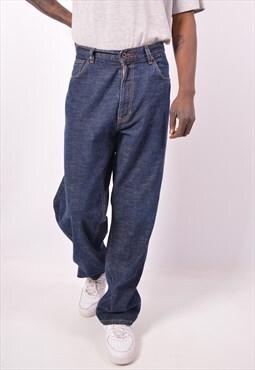 Vintage Tommy Hilfiger Straight Jeans Blue