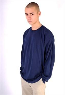 Navy long sleeve t shirt