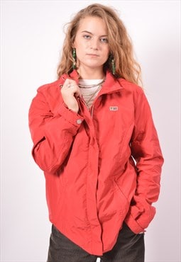 Vintage Napapijri Over Jacket Red