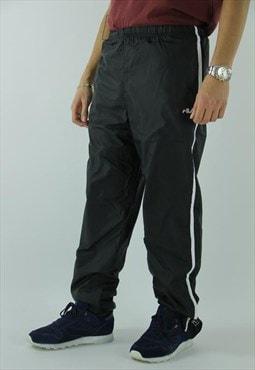 Fila track pants black