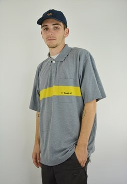 Vintage POST Oles Oversized Polo Shirt