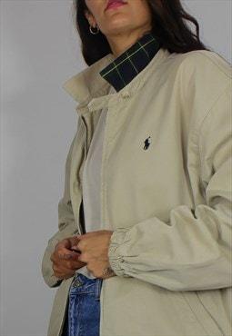 Vintage Polo Ralph Lauren Harrington Jacket w Logo Front