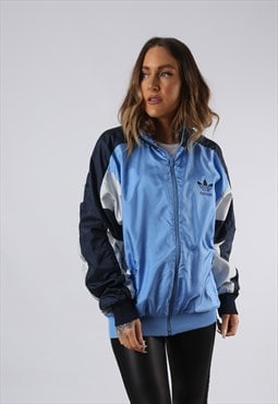 Vintage ADIDAS Shell Bomber Jacket Oversized UK 16 XL  (O3G)
