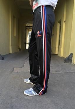 Vintage 90' Oldschool Cool Unisex Adidas Sweat Trousers
