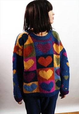 Vintage 90's knitted wool jumper