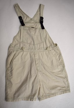 Vintage 90s Union Bay Cream Dungarees Shorts