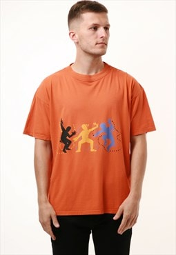90s Vintage Hess Natur Graphic Print T-Shirt 15579