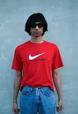 Vintage red Nike t-shirt
