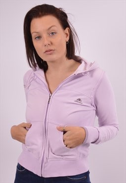 Ellesse Womens Vintage Hoodie Sweater Small Purple 90s