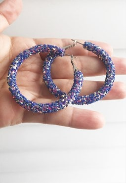 BlingBling multi colour earring