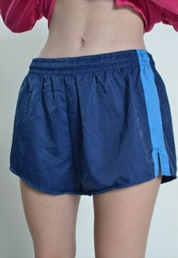 Vintage Adidas Sprinter Shorts Blue