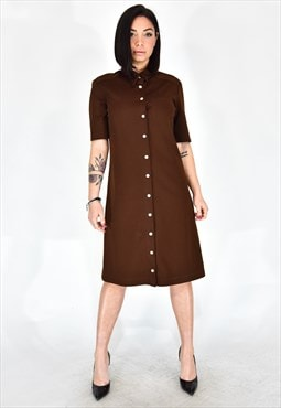 Dolce & gabbana brown dress