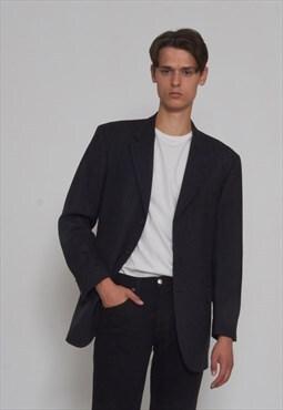 Vintage Black HUGO BOSS Blazer Jacket