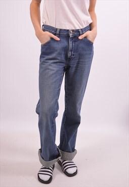 Vintage Wrangler High Waist Jeans Blue