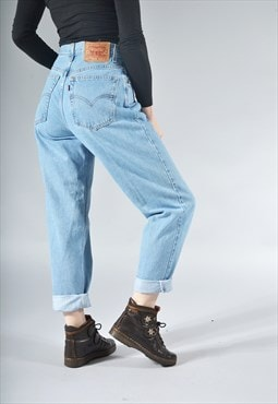Vintage Levi's 550 Light Blue Mom Jeans
