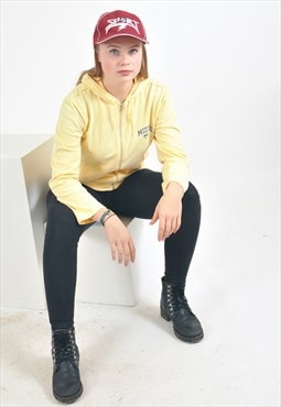 Vintage CHAMPION hoodie in yellow