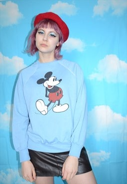 Vintage 90's Disney Mickey Mouse Graphic Sweatshirt