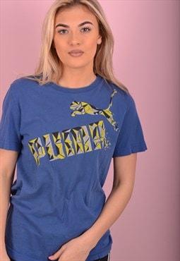 Blue Puma T-Shirt GBT4303